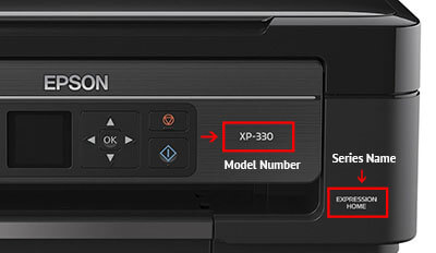 Find Your Printer Model Number