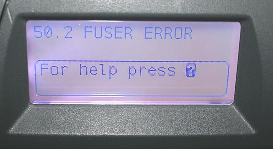 Common HP Error Codes