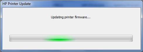 Updating Printer Firmware